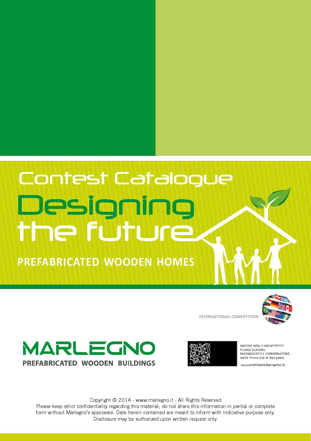 Contest catalogue designing the future by marlegno prefabricated wooden buildings issuu
