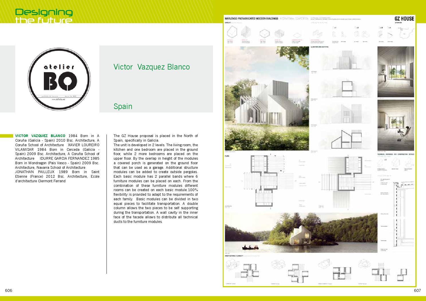 "École D Architecture Clermont contest catalogue ""designing the future""marlegno - issuu"