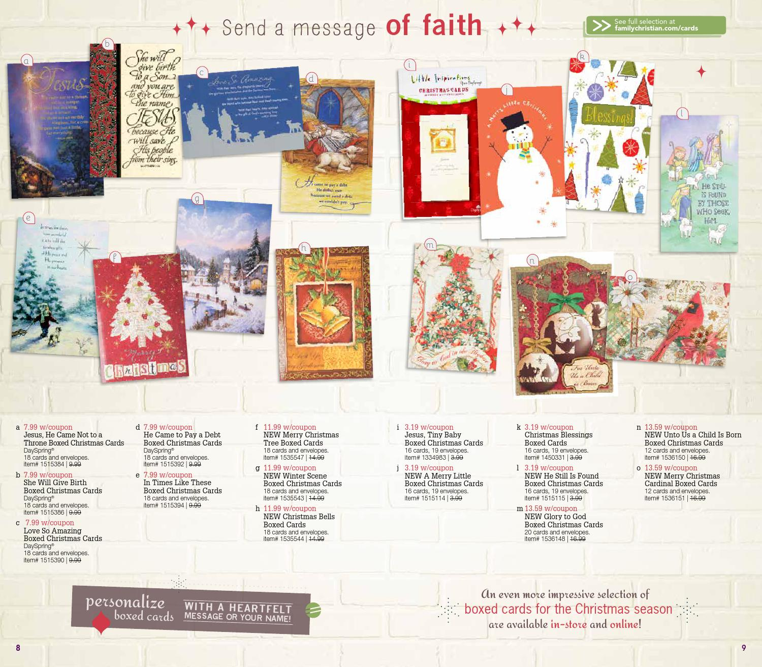 Family Christian Christmas 1 Catalog by Family Christian Stores - issuu
