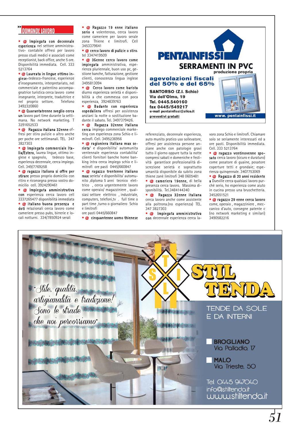 Tende Da Sole Schio lira & lira 753 by pubblistudio pubblicità srl - issuu