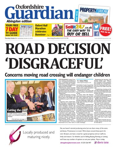 3eb3dffb0a0a 16 october 2014 oxfordshire guardian abingdon by Taylor Newspapers ...