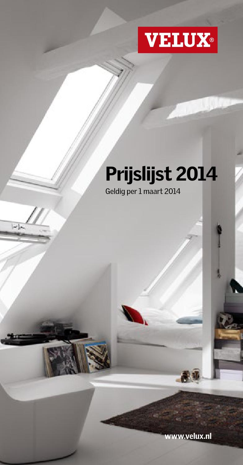velux prijslijst 2014 by velux nederland b v issuu. Black Bedroom Furniture Sets. Home Design Ideas