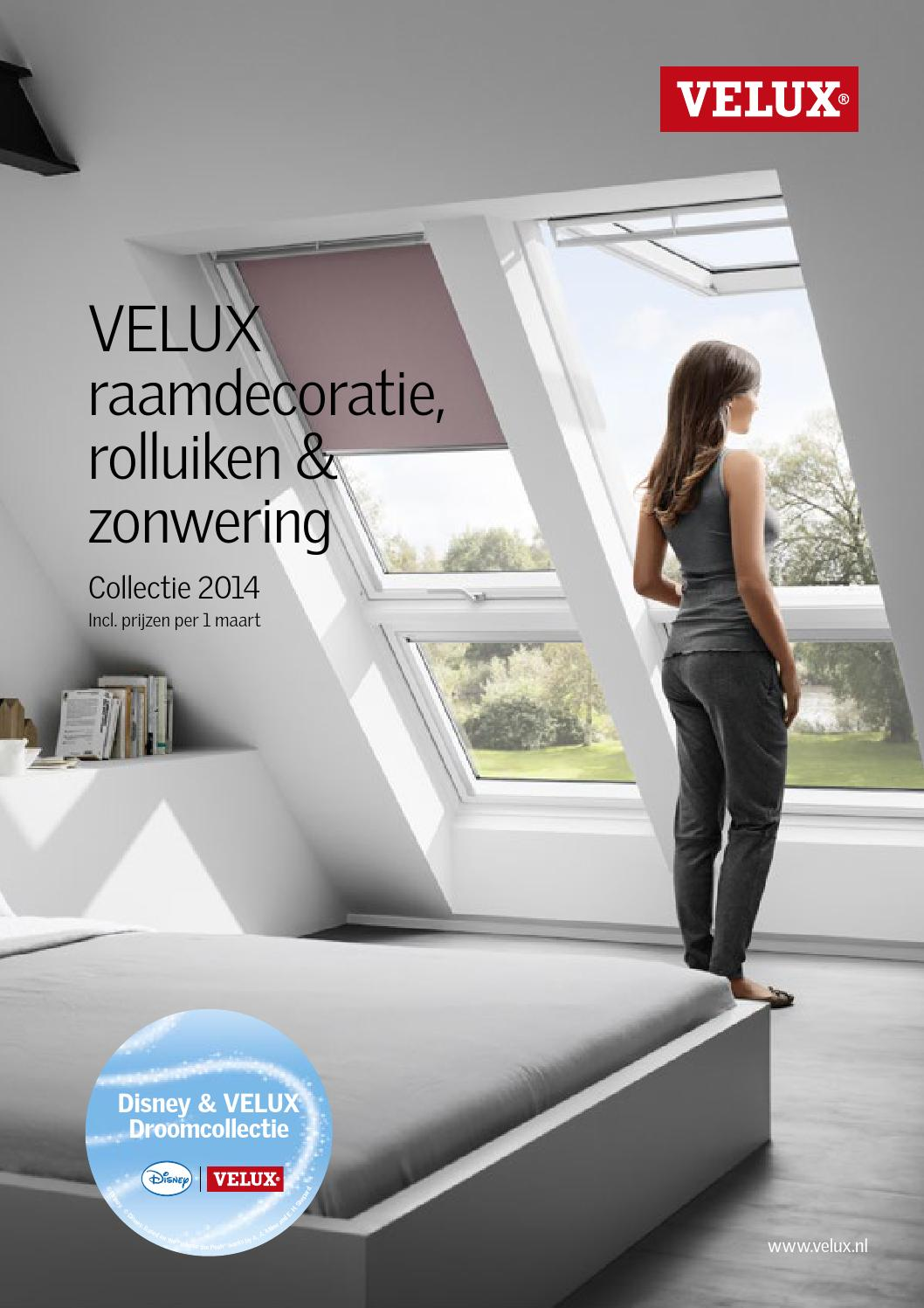 Velux raamdecoratiebrochure 2014 by velux nederland b v for Listino velux 2014