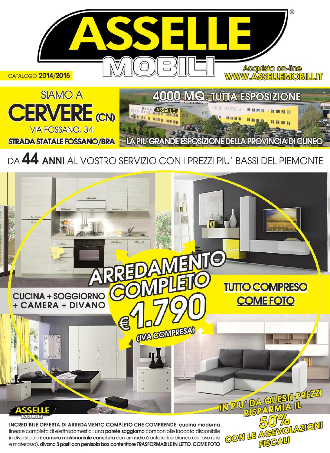 Asselle mobili catalogo 2014 by asselle mobili issuu - Asselle mobili cucine ...