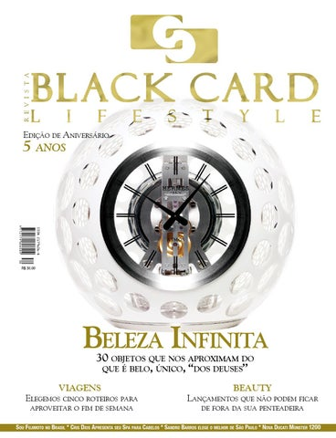 2d0e747d0f4 Revista Black Card Lifestyle - Edição 30 by Revista BlackCard ...