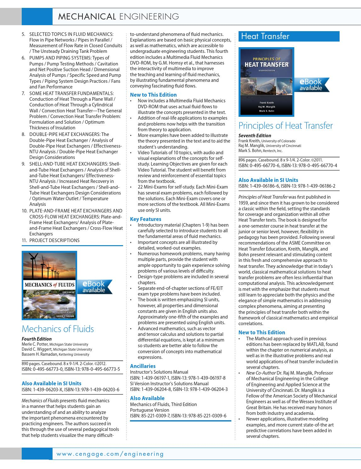 Cengage Learning Global Engineering 2015 Mechanical Engineering Catalog by  Cengage Learning Global Engineering - issuu