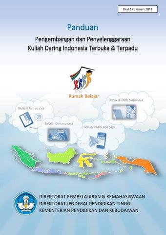 Buku pengembangan dan penyelenggaraan kuliah daring indonesia page 1 ccuart Image collections