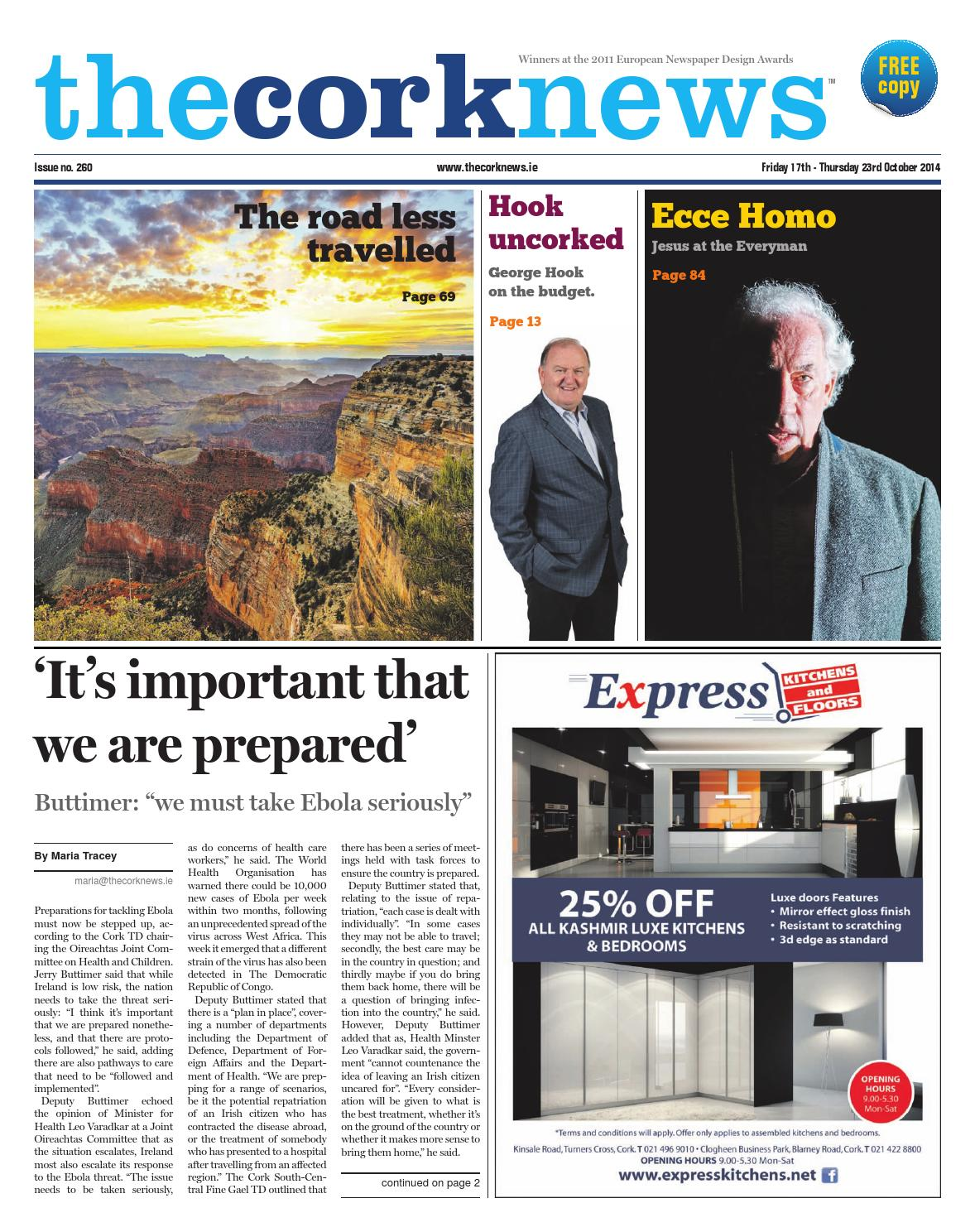 The Cork News 17/10/2014 by Shane O'Donnell - issuu