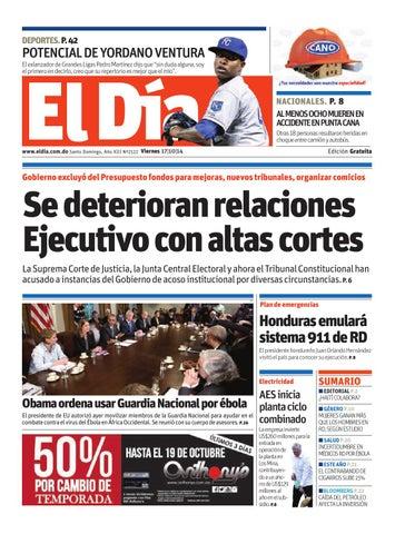 Edición impresa by Periódico El Dia - issuu 59ab7a8cea0