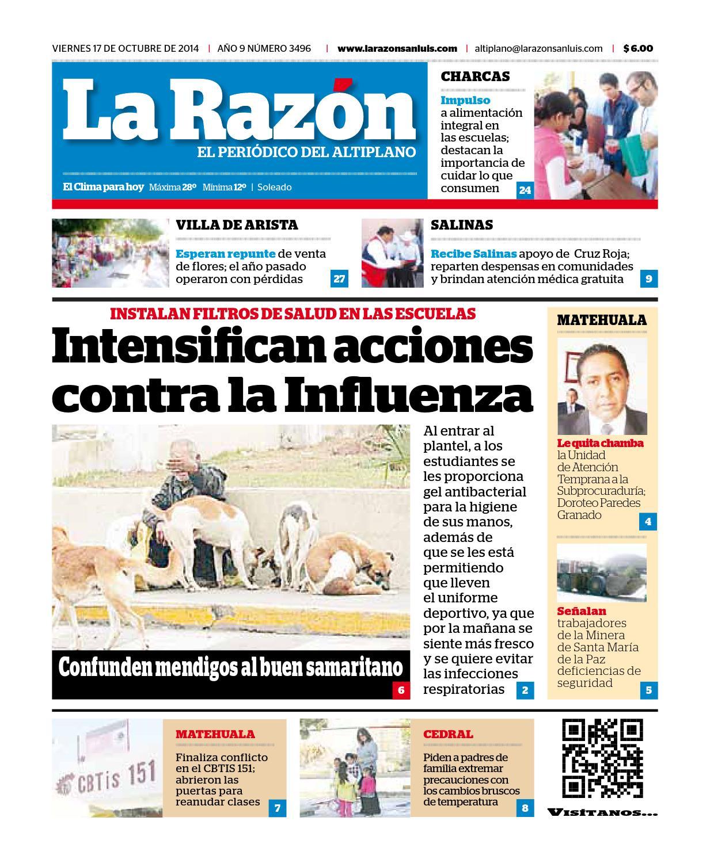 Lrsal171014 by La Razón San Luis - issuu