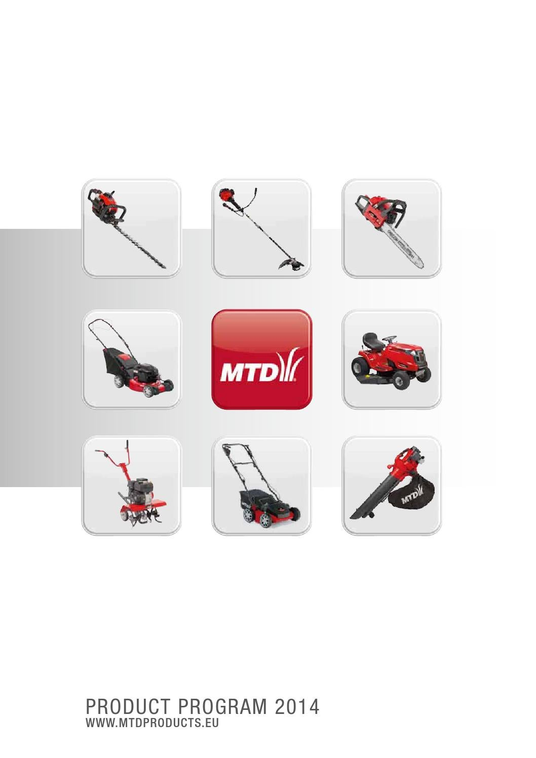 Mtd Catalogue Summer 2014 By Knooppunt Intermedia Issuu 38quot Lawn Tractor Page 5 Diagram And Parts List For Ridingmower