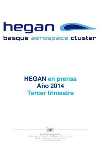 Hegan en prensa tercer trimestre 2014 by Pool de Comunicación, SL ...