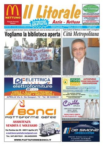 Il litorale n. 18 - 16 31 Ottobre 2014 by Il Pontino Il Litorale - issuu 0741dd9dddc8