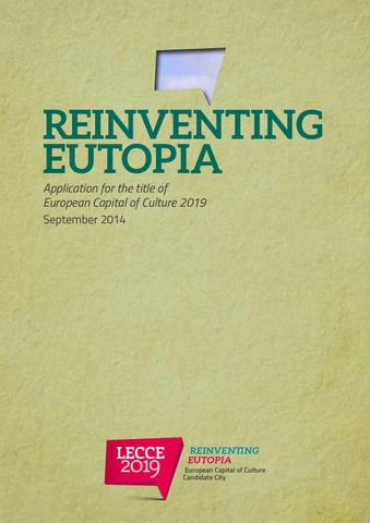 Lecce2019 Reinventing Eutopia - September 2014 (english version) by ...
