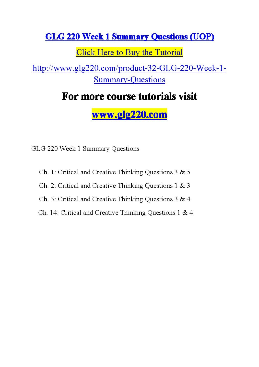 critical and creative thinking questions