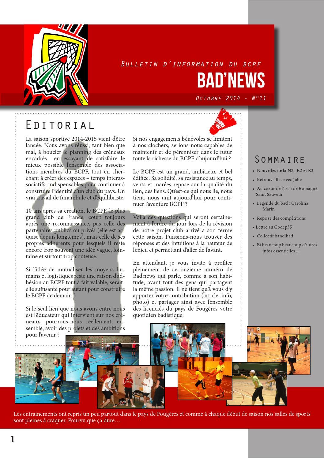 f98e510aeccbe Bad news 11 by bcpf Pays de Fougères - issuu