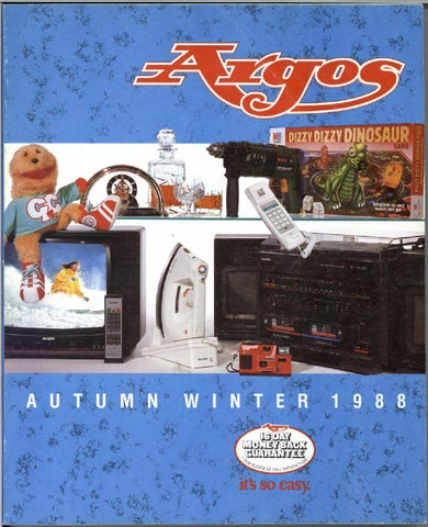 b43a05ebf Argos No.30 1988 Autumn Winter by Retromash - issuu