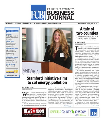 57fe13cb41737 Fairfield County Business Journal 102014 by Wag Magazine - issuu