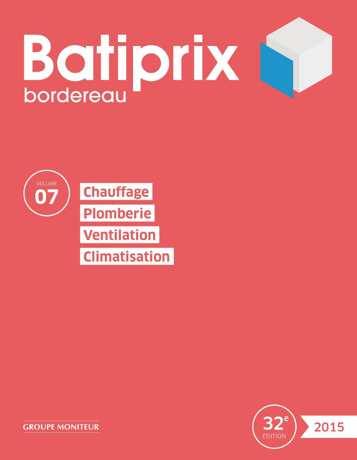 extrait batiprix 2015 volume 7 by infopro digital issuu. Black Bedroom Furniture Sets. Home Design Ideas