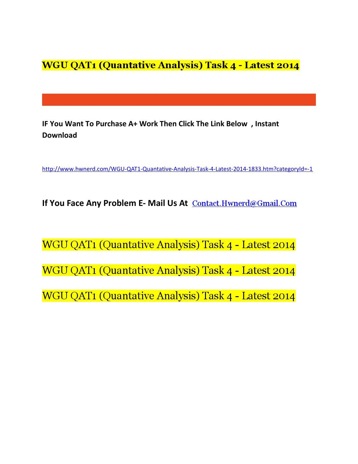 wgu egt task 4 Wgu aca1 task 4 tutorial solution help if you need the solution/tutorial to this task or any other aca1, bga1 or any other task/assignment/homework help then feel free to contact me at waqar42@gmailcom.