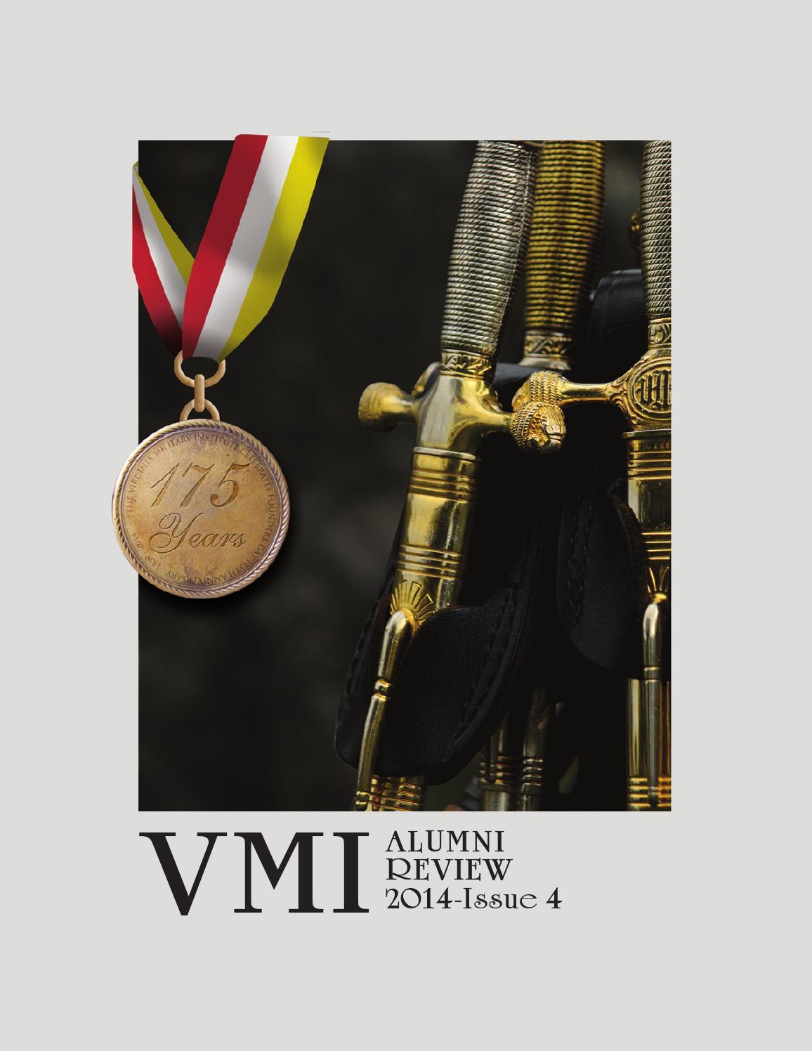8ce0ab05b1 Alumni Review 2014 Issue 4 by VMI Alumni Agencies - issuu
