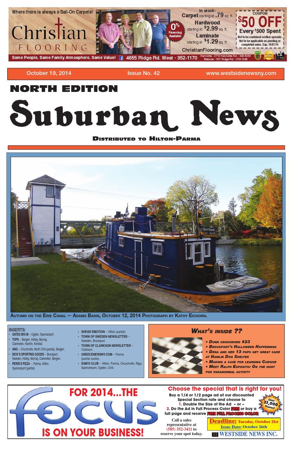 Suburban News North Edition - October 19, 2014 by Westside News Inc. - issuu