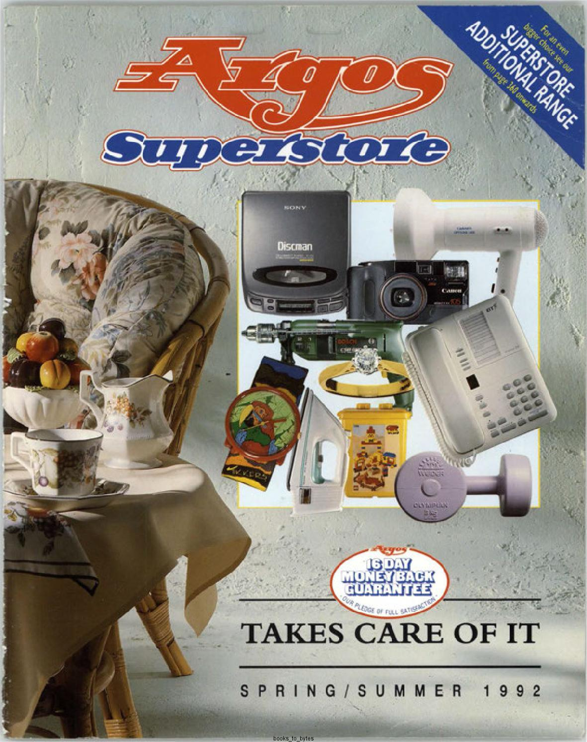 Argos Superstore 1992 Spring/Summer by Retromash - issuu on