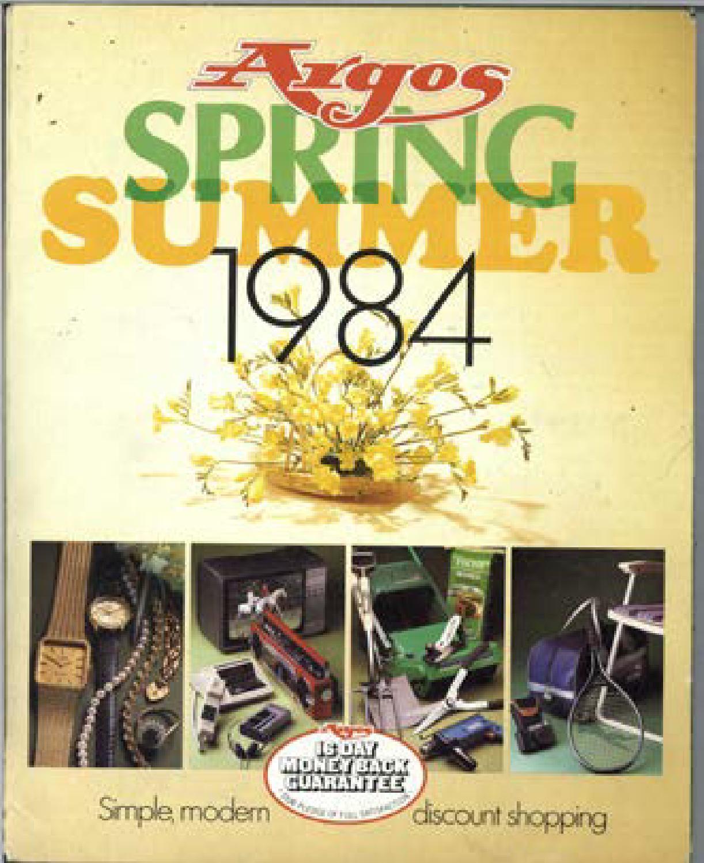 218bbb9320cb Argos No.21 1984 Spring Summer by Retromash - issuu