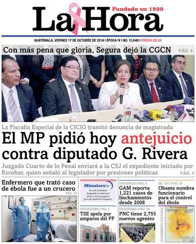 f3448fe6179 Diario La Hora 17-10-2014 by La Hora - issuu