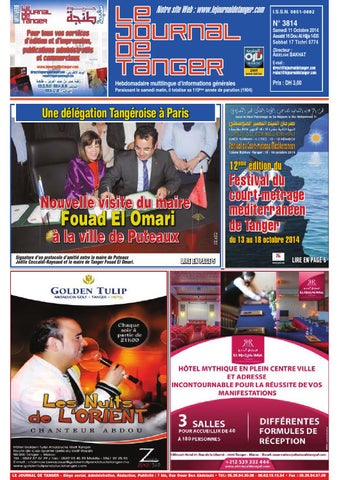 ccfa87f37 Journal de tanger 11 octobre 2014 by Le Journal de Tanger - issuu