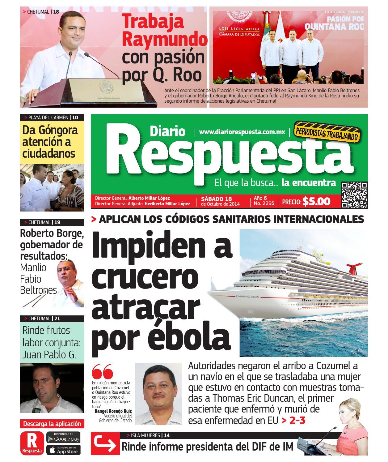 bbf498502c Respuesta18octubre2014 by Diario Respuesta - issuu