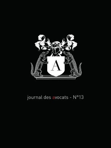 Journal Des Avocats N13 By Le Journal Des Avocats Issuu