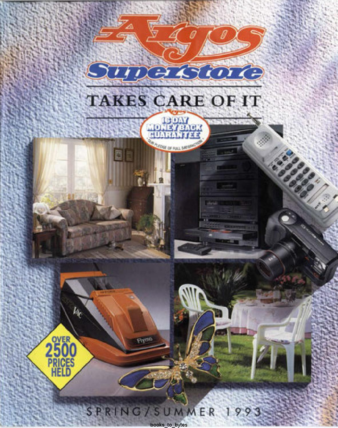 Argos Superstore 1993 Springsummer By Retromash Issuu