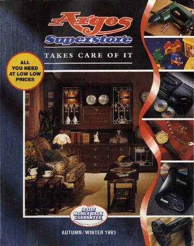 meet 79043 38f50 Argos Superstore 1993 AutumnWinter by Retromash - issuu