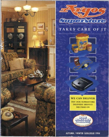 Argos Superstore 1994 Autumnwinter By Retromash Issuu