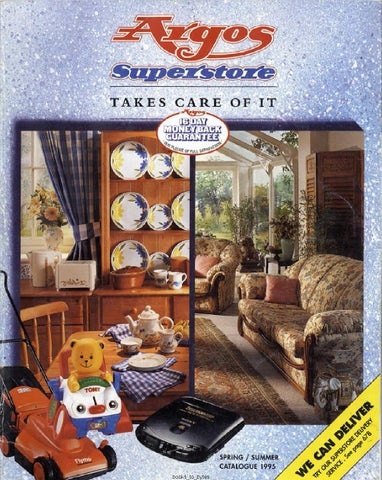 Argos Superstore 1995 Springsummer By Retromash Issuu