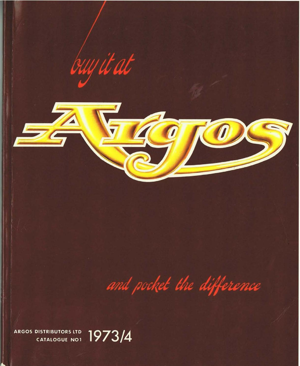 Argos No01 1973 74 By Retromash Issuu