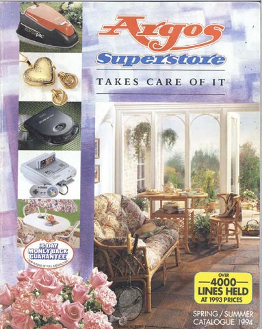 Argos Superstore 1994 Springsummer By Retromash Issuu