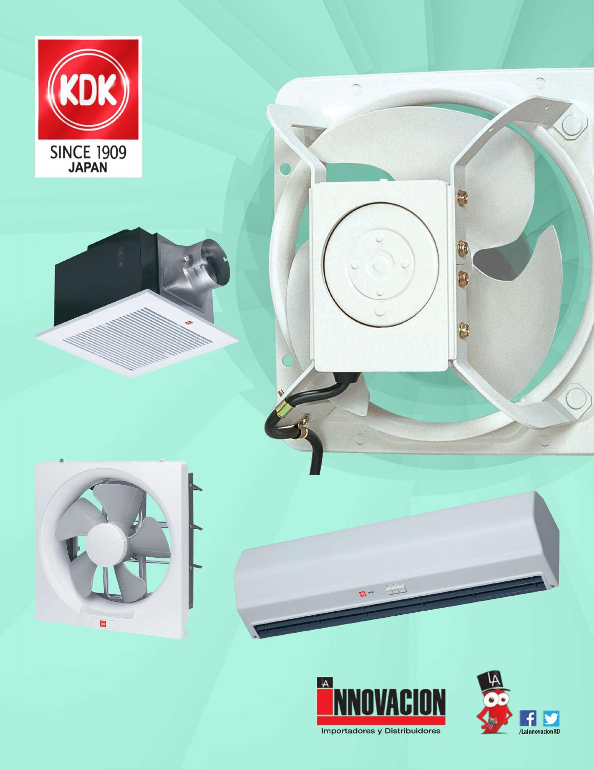 Kdk extractores by la innovaci n issuu - Extractor para bano ...