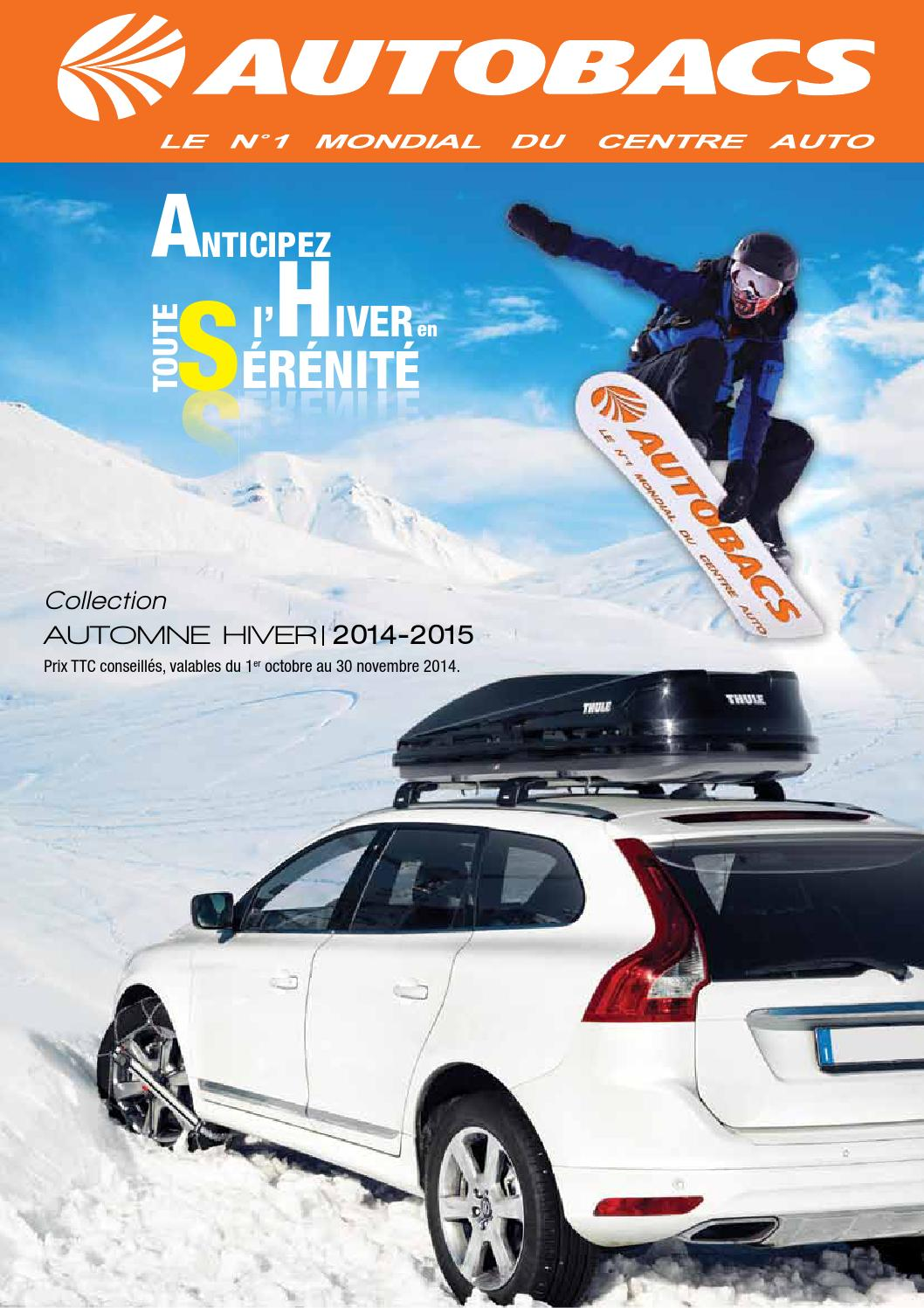 Autobacs Hiver 2014 2015 By Joe Monroe Issuu