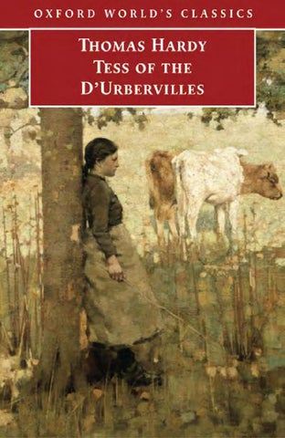 Can anyone help with my Tess of The Durbyfields by Thomas Hardy coursework?