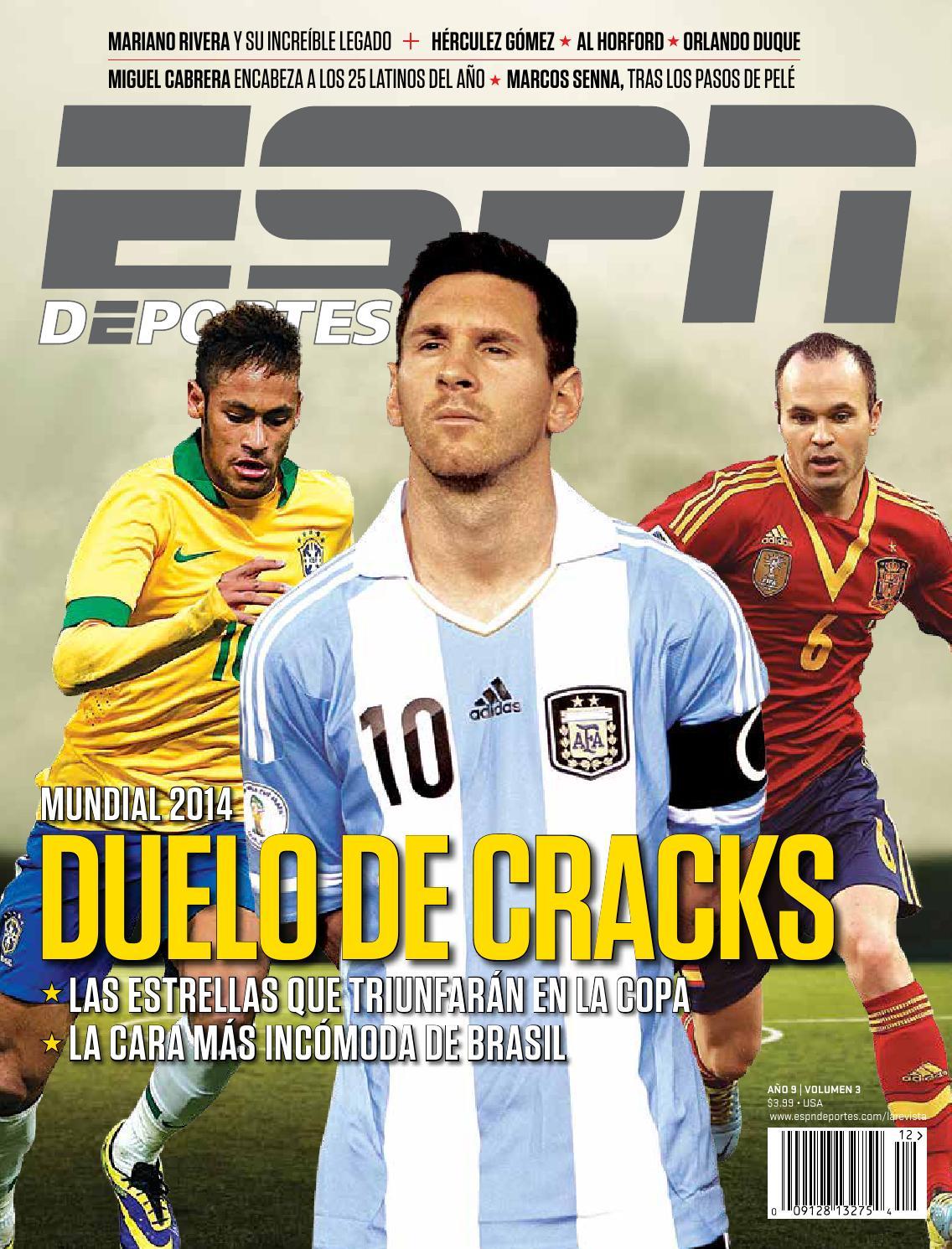 reputable site a5652 4a668 ESPN Deportes La Revista - Diciembre 2013 by andoni biurrarena - issuu