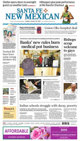 Santa Fe New Mexican Oct 19 2014 By The New Mexican Issuu