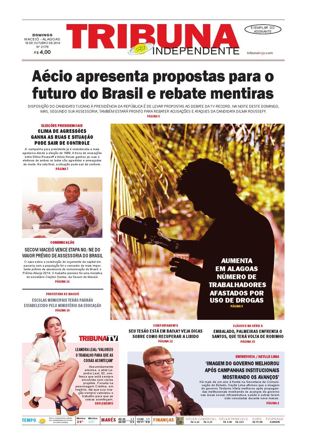 771d4c92e Edição número 2176 - 19 de outubro de 2014 by Tribuna Hoje - issuu