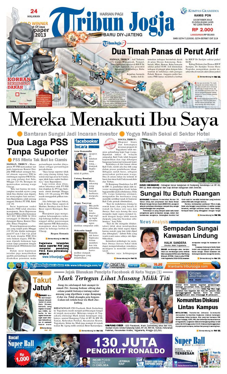 Tribunjogja 16 10 2014 By Tribun Jogja Issuu Produk Ukm Bumn Barbekyu Kelitik Surabaya