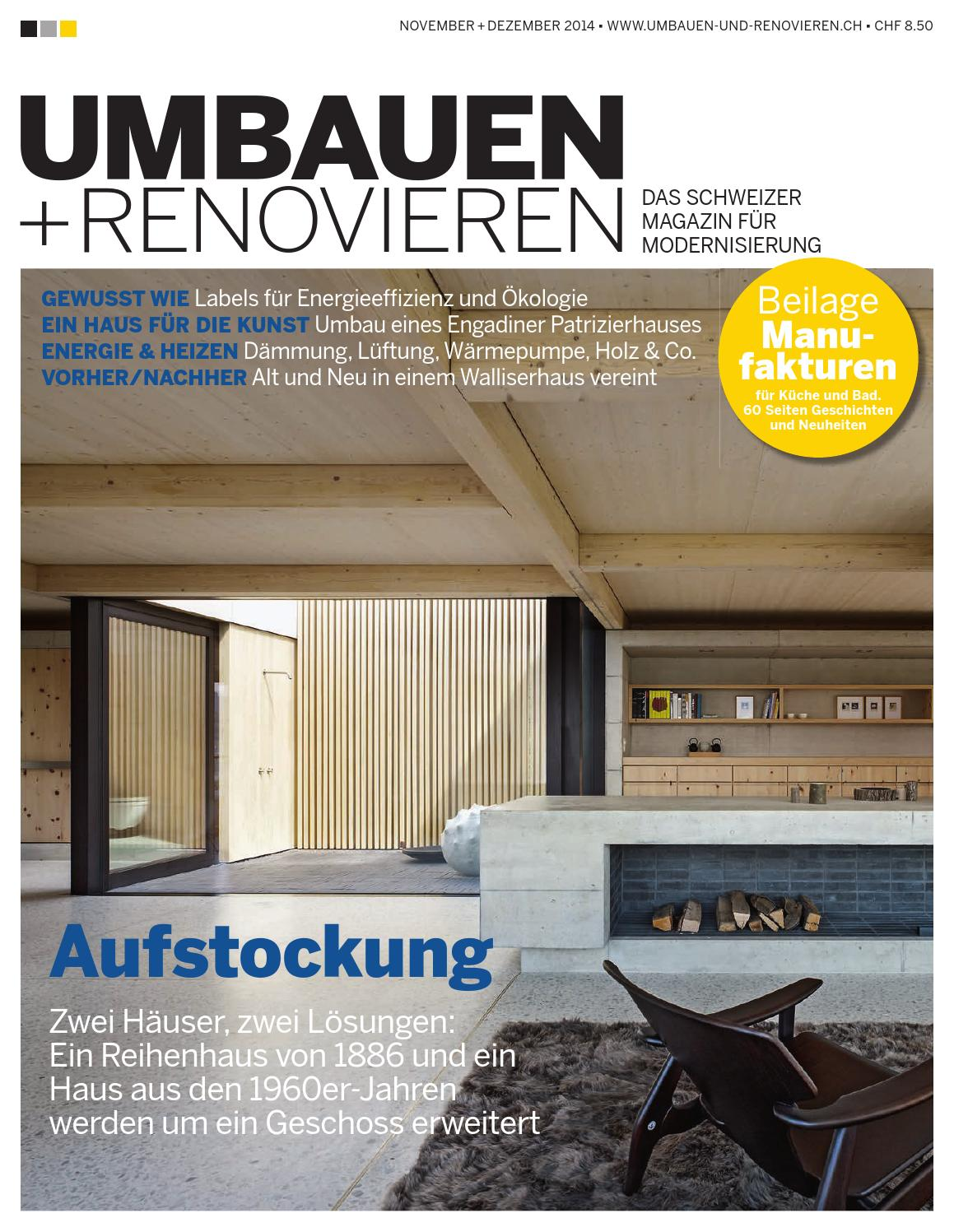 umbauen renovieren 6 2014 by archithema verlag issuu. Black Bedroom Furniture Sets. Home Design Ideas