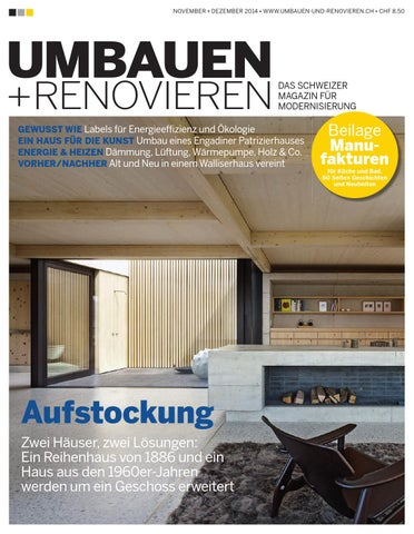 Umbauen Renovieren umbauen renovieren 6 2014 by archithema verlag issuu