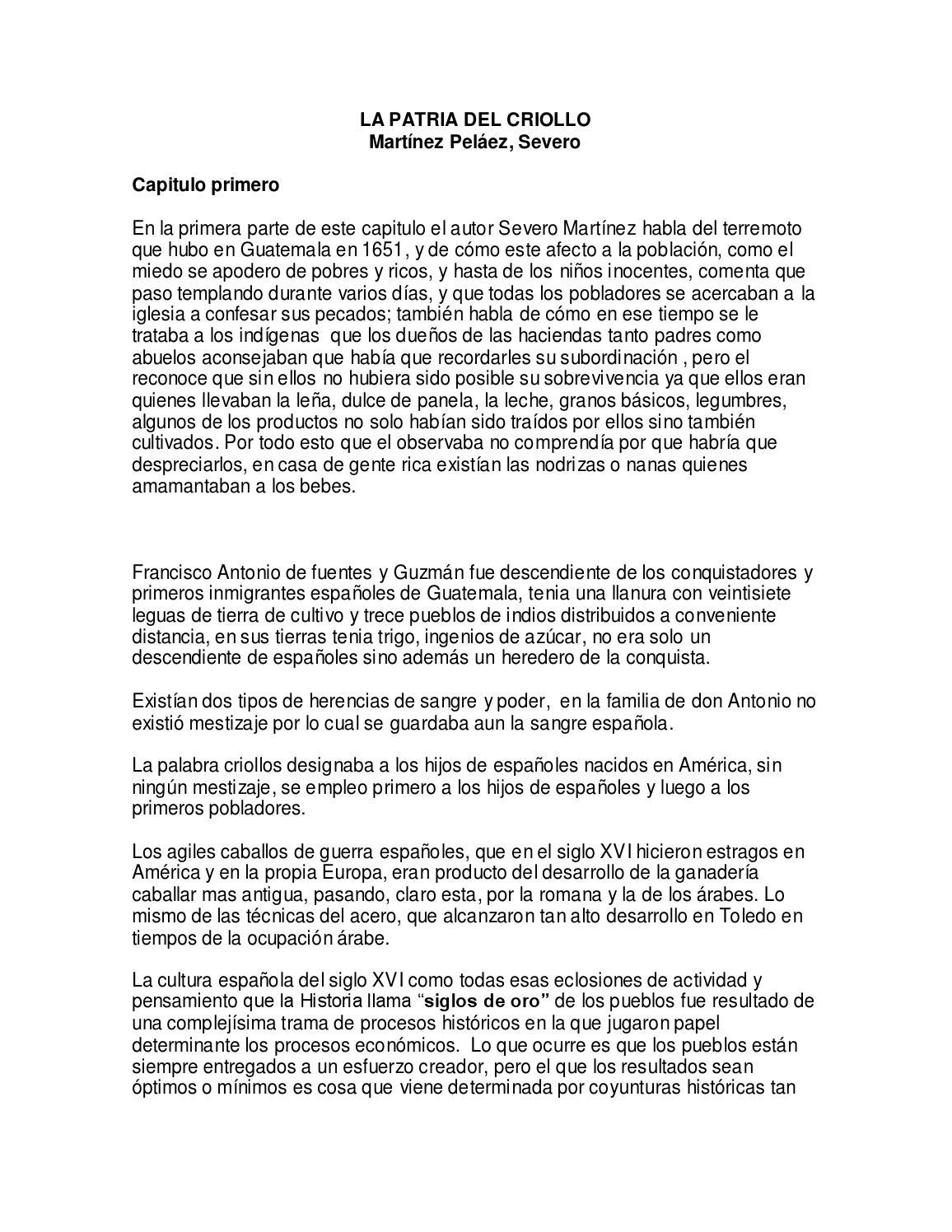 Patria del criollo signed by Jennifer Alvarado - issuu