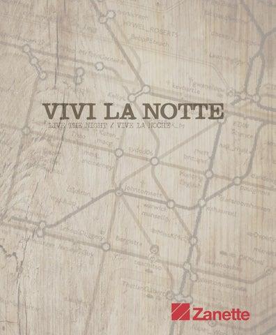 """Catalogo """"Vivi la notte"""" di Zanette by Zanette Arredamento - issuu"""