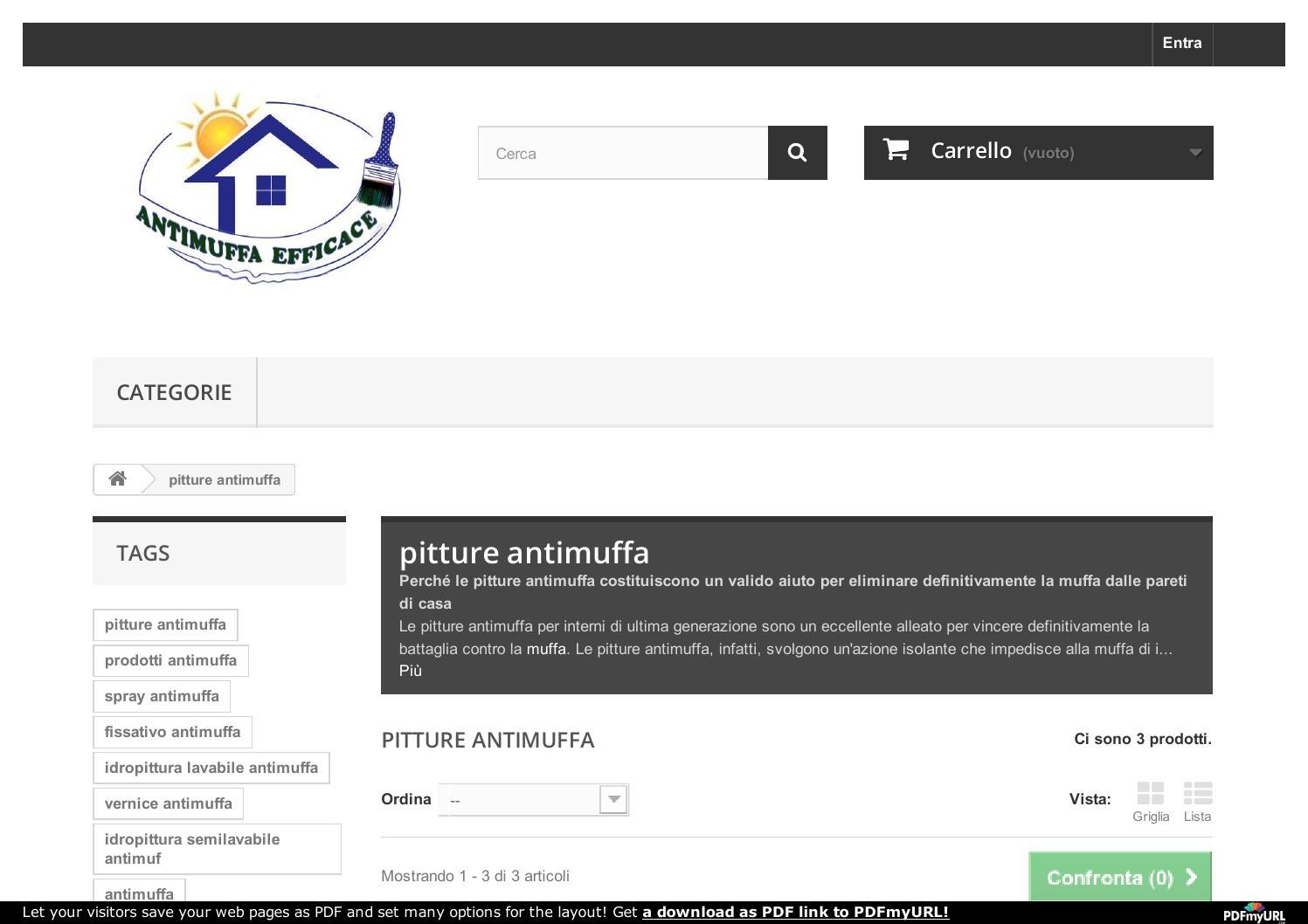 Http antimuffaefficace it 12 pitture antimuffa by for Fissativo antimuffa